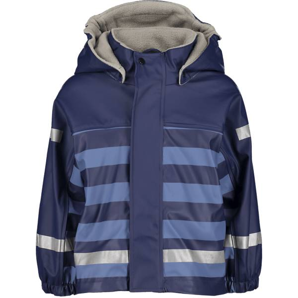 Image of Pax So Pu Lined Jacket Jr Sadevaatteet BLUE STRIPE (Sizes: 74-80)