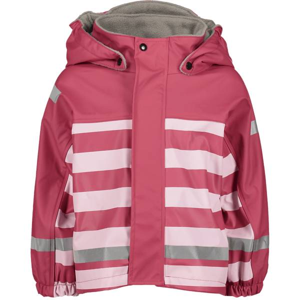 Image of Pax So Pu Lined Jacket Jr Sadevaatteet RASPBERRY SRTIPE (Sizes: 74-80)