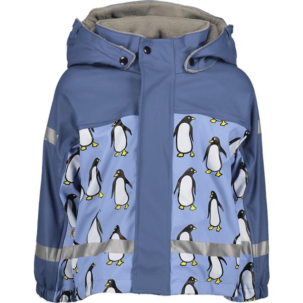 Image of Pax So Pu Lined Jacket Jr Sadevaatteet BLUE PENGUIN (Sizes: 74-80)