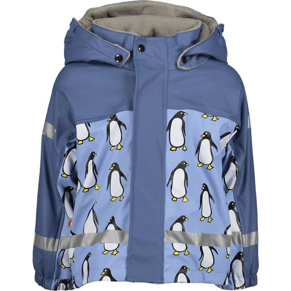Image of Pax So Pu Lined Jacket Jr Sadevaatteet BLUE PENGUIN (Sizes: 74-80)