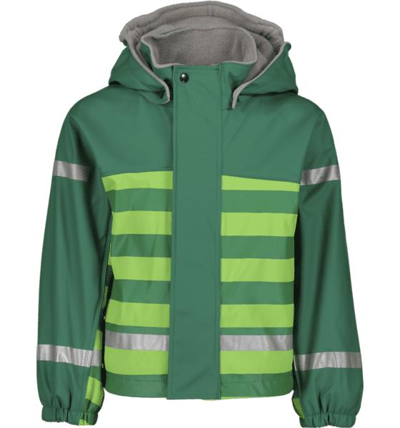 Image of Pax So Pu Lined Jacket Jr Sadevaatteet GREEN STRIPE (Sizes: 74-80)