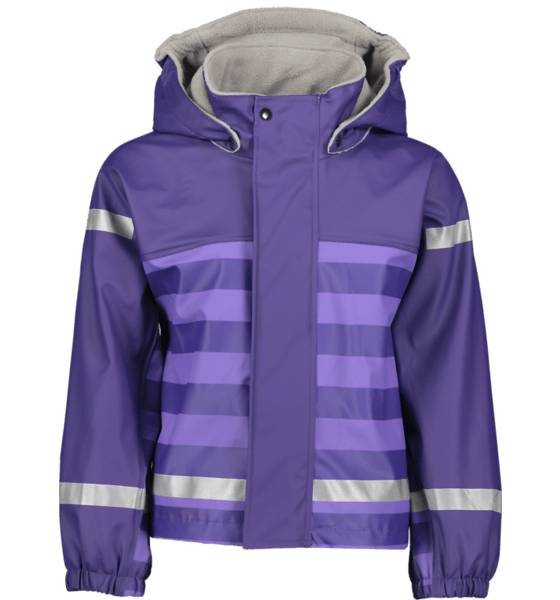 Image of Pax So Pu Lined Jacket Jr Sadevaatteet VIOLET STRIPE (Sizes: 86-92)