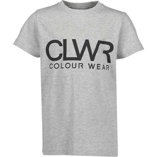 Colour Wear So Clwr Logotee Jr T-paidat & topit GREY MELANGE (Sizes: 160)
