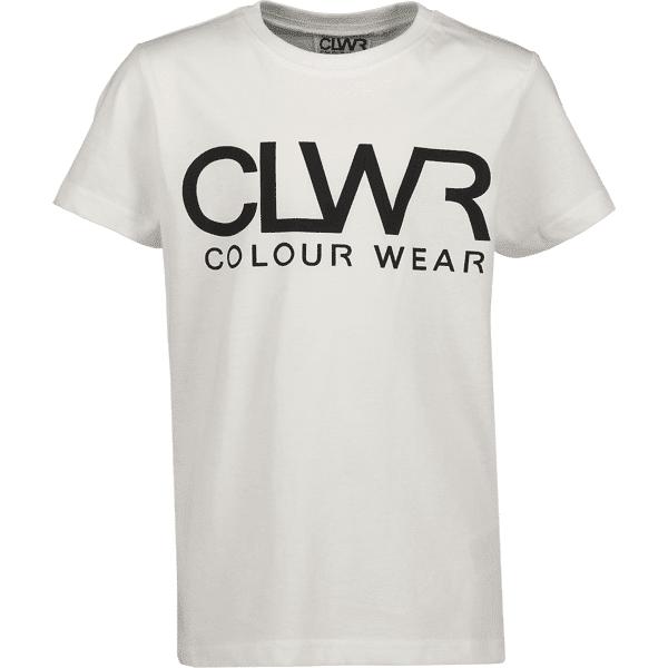 Colour Wear So Clwr Logotee Jr T-paidat & topit WHITE (Sizes: 120)
