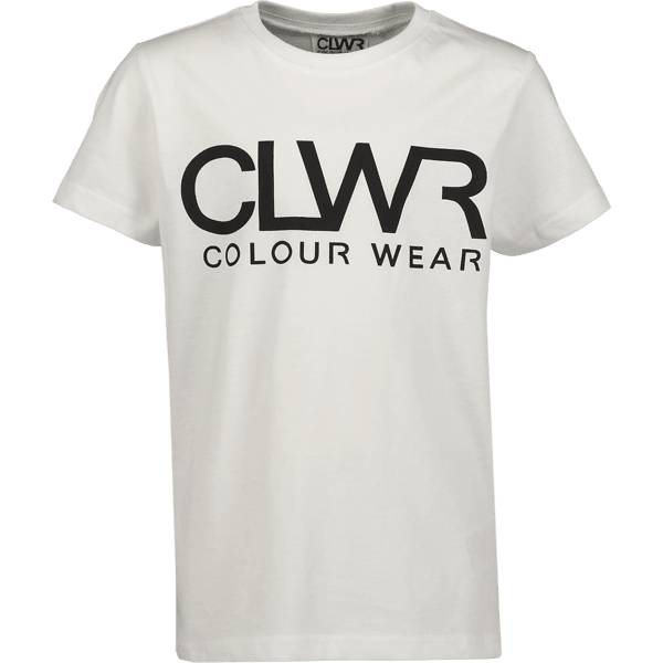 Colour Wear So Clwr Logotee Jr T-paidat & topit WHITE (Sizes: 160)