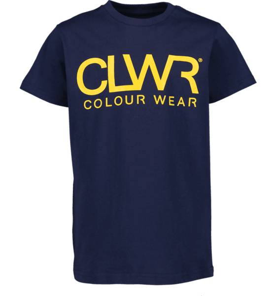 Colour Wear So Clwr Logotee Jr T-paidat & topit MIDNIGHT BLUE (Sizes: 150)