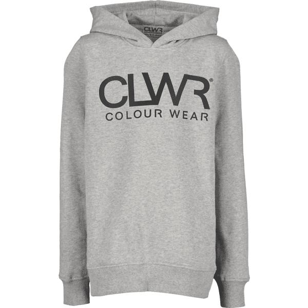 Colour Wear So Clwr Hood Jr Yläosat GREY MELANGE (Sizes: 140)