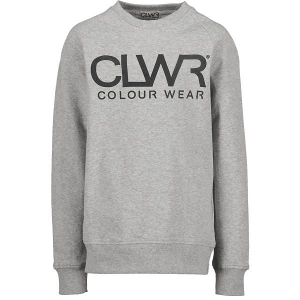 Colour Wear So Clwr Crew Jr Yläosat GREY MELANGE (Sizes: 140)