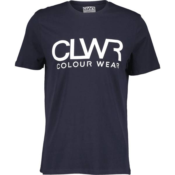 Colour Wear So Clwr Tee M T-paidat NAVY (Sizes: M)