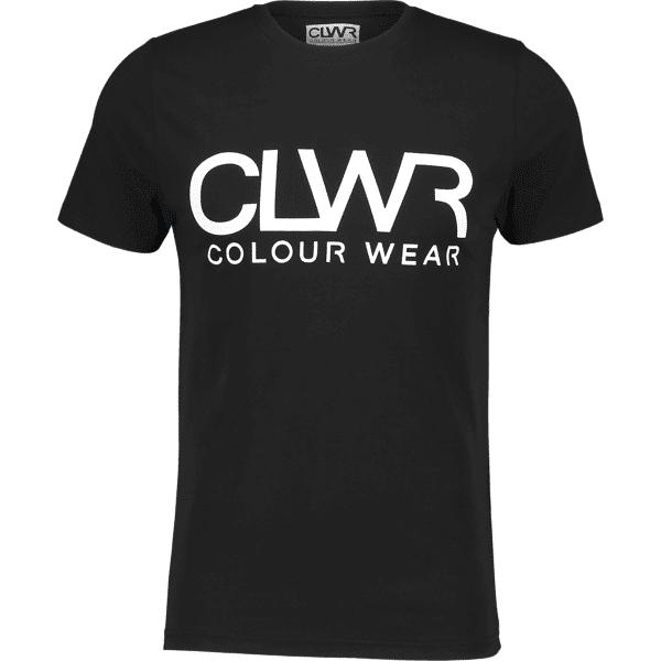 Colour Wear So Clwr Tee M T-paidat BLACK (Sizes: M)