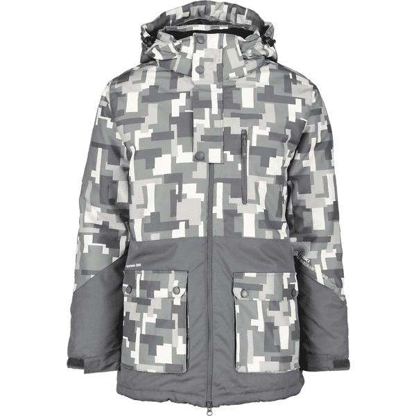 Ski Industries So Ski Jacket M Takit GREY BLOCK PRINT  - GREY BLOCK PRINT - Size: Extra Small