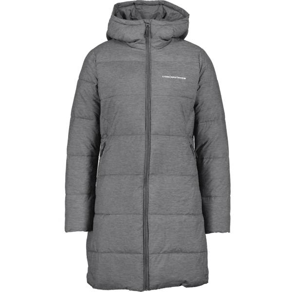 Cross Sportswear So Long Padded Jacket W Takit DK GREY MELANGE (Sizes: L)