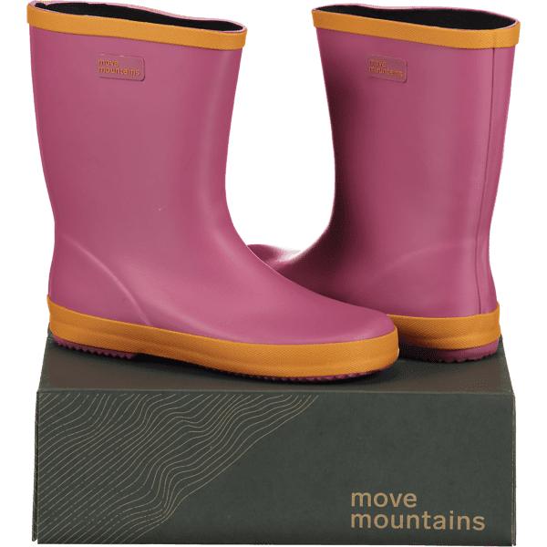 Move Mountains So Molde Rubber Jr Varsikengät & saappaat PINK/ORANGE (Sizes: 28)