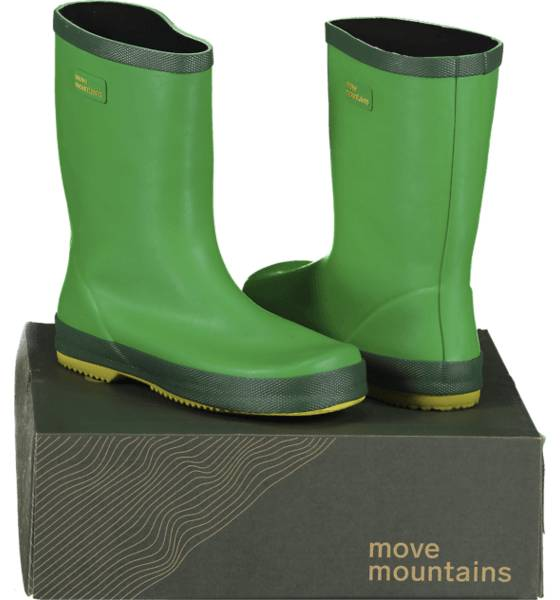 Image of Move Mountains So Molde Rubber Jr Varsikengät & saappaat GREEN (Sizes: 24)