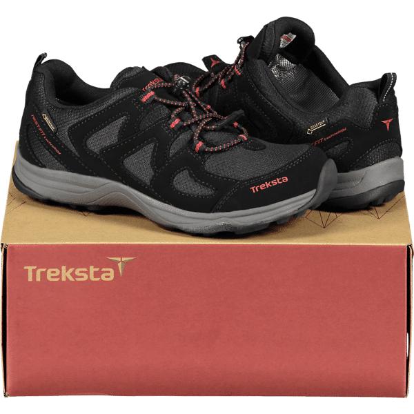 Image of Treksta So Blaiken Low Gtx Varsikengät & saappaat BLACK/GREY/RED (Sizes: 30)