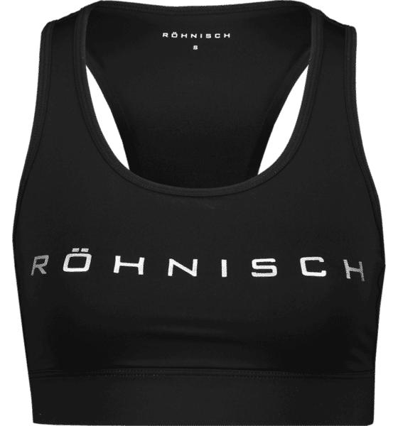 Image of Röhnisch So Fine Sportbra W Treeni BLACK (Sizes: M)