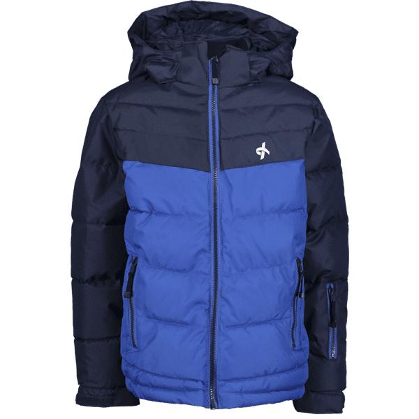 Image of Cross Sportswear So Winter Jkt 2 Jr Takit NAVY/VICTORIA BLUE (Sizes: 134-140)