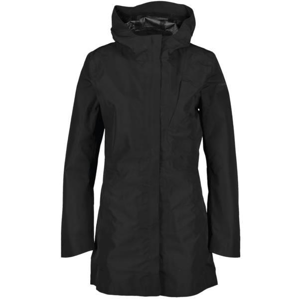 Image of Cross Sportswear So Dress Coat W Takit BLACK (Sizes: XS)