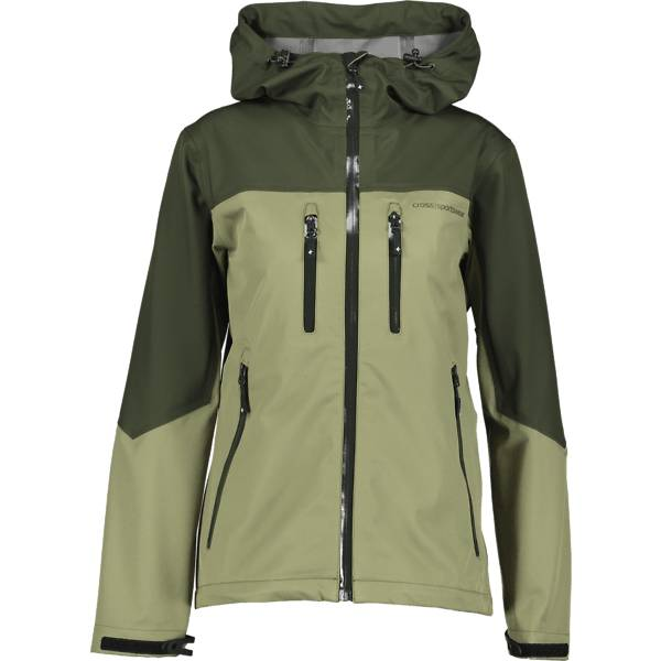 Cross Sportswear So Davos Jkt Ii W Takit KOMBU/LICHEN GREEN (Sizes: M)