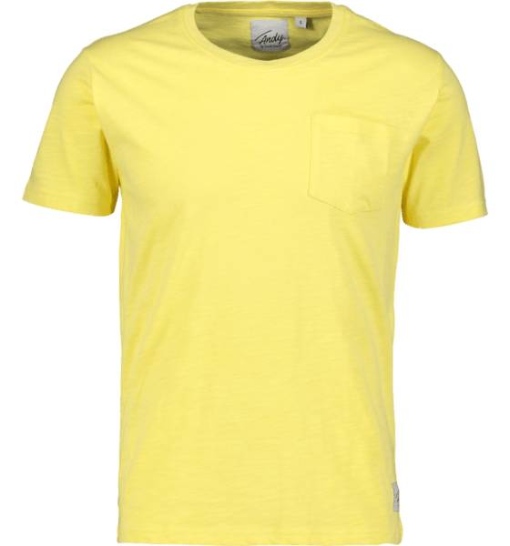 Image of Andy By Frank Dandy So Pocket Tee M T-paidat SUN  - SUN - Size: Extra Large
