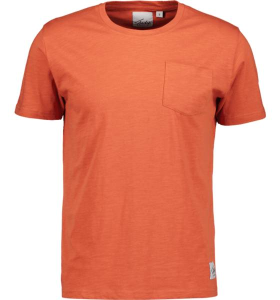Image of Andy By Frank Dandy So Pocket Tee M T-paidat RUST  - RUST - Size: Medium