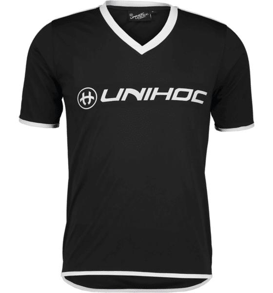 Unihoc So London T-shirt Topit BLACK/WHITE  - BLACK/WHITE - Size: Small