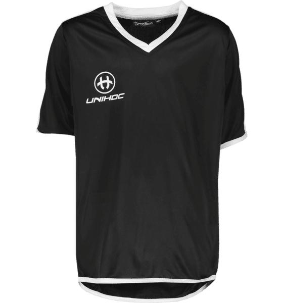Image of Unihoc So London Shirt Jr Treeni BLACK/WHITE F19  - BLACK/WHITE F19 - Size: 140-150