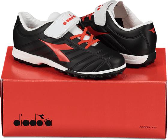 Diadora So Pichichi Tf Jr Jalkapallo BLACK/GRENADINE/WH (Sizes: 3)
