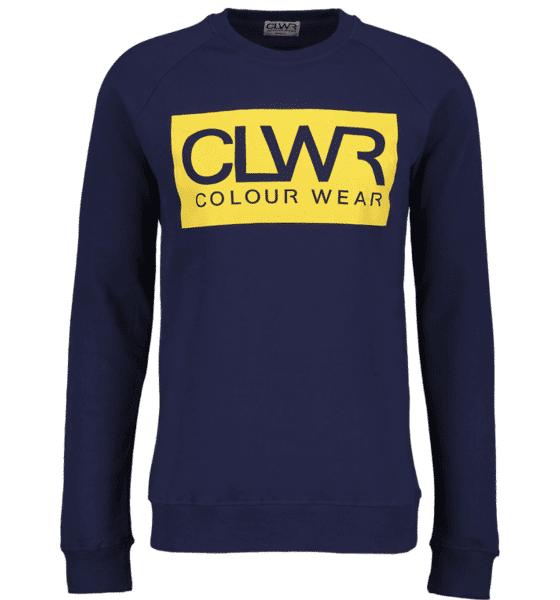 Image of Colour Wear So Clwr Crew M Yläosat MIDNIGHT BLUE (Sizes: S)