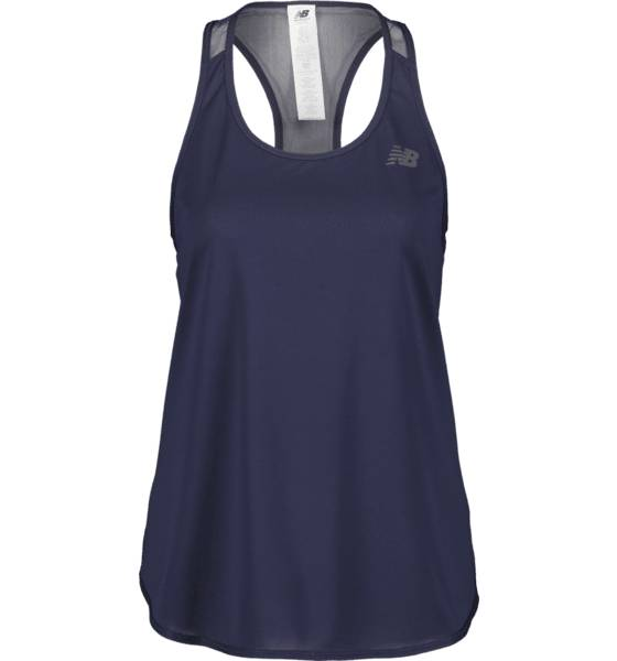 New Balance So Pow Mesh Tank W Treeni BLUE (Sizes: M)