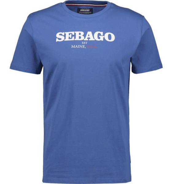 Image of Sebago So Log Tee M T-paidat MID BLUE - MID BLUE - Size: Medium