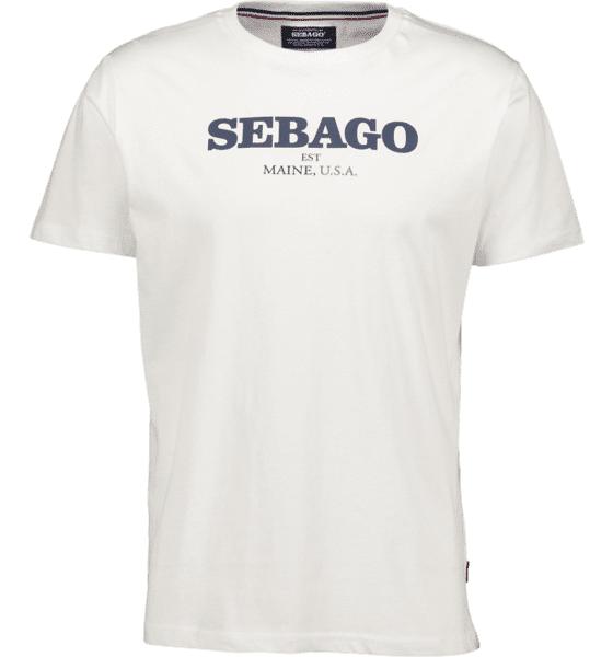 Image of Sebago So Log Tee M T-paidat WHITE - WHITE - Size: Medium