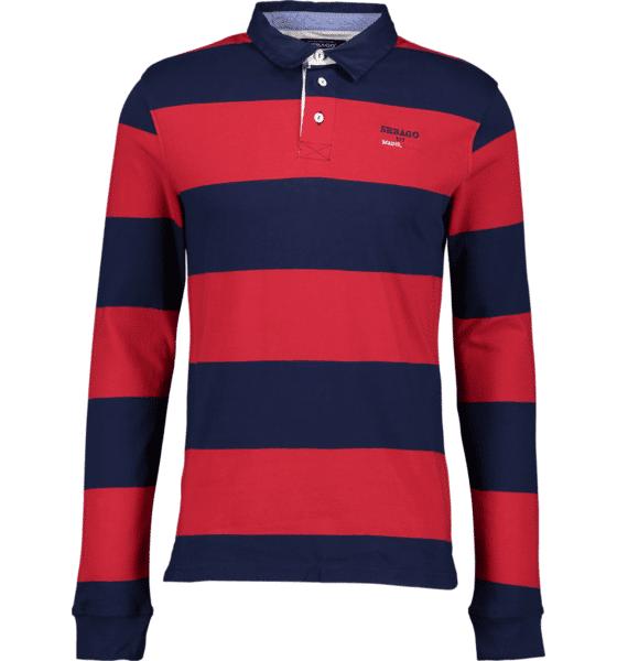 Image of Sebago So Broad Rugger M T-paidat RED/NAVY - RED/NAVY - Size: Medium
