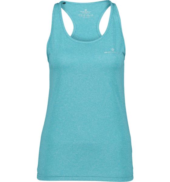 Image of Ronhill So Run Vest W Treeni PEACOCK MARL (Sizes: 40)