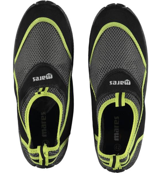 Image of Mares So Aquawalk Sr Varsikengät & saappaat BLACK/LIME (Sizes: 36-37)