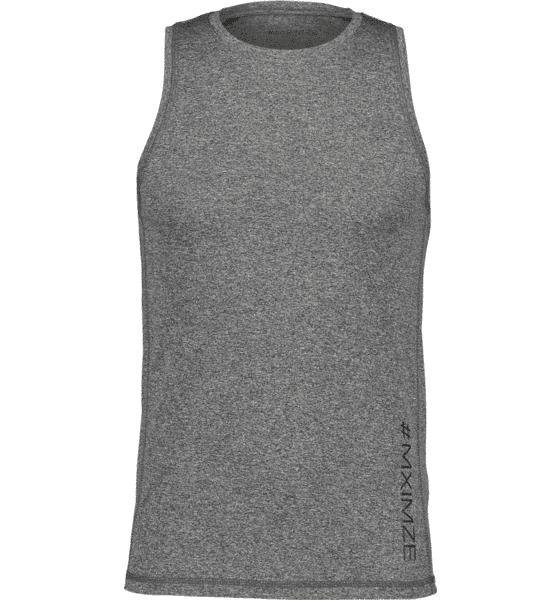 Image of #mximze So Gym Tank M Treeni BLACK MELANGE  - BLACK MELANGE - Size: Medium