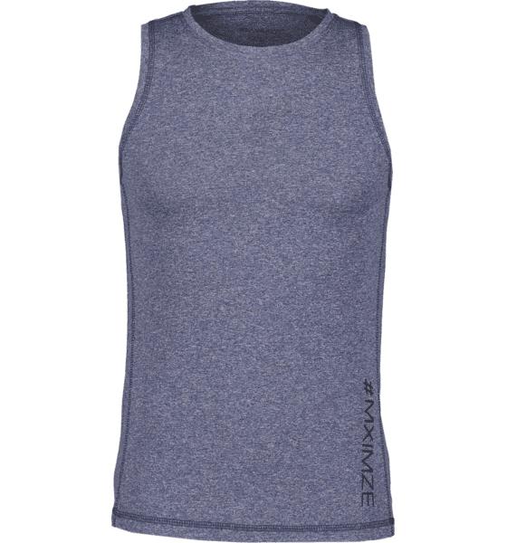 Image of #mximze So Gym Tank M Treeni NAVY MELANGE  - NAVY MELANGE - Size: Medium