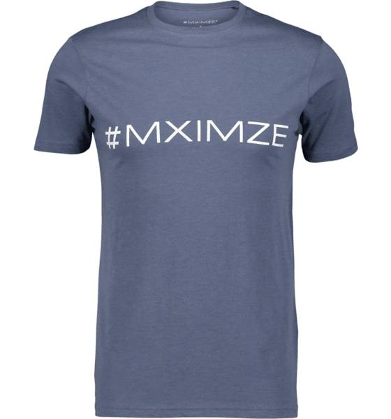 Image of #mximze So Classic Tee M Treeni BLUE MELANGE (Sizes: S)