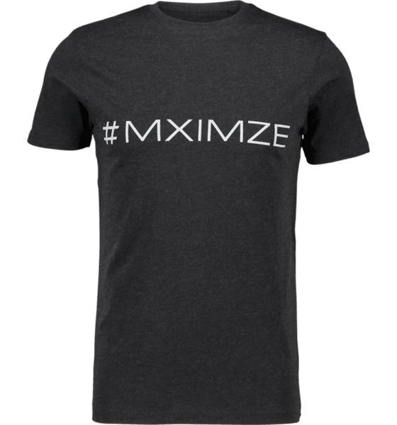 Image of #mximze So Classic Tee M Treeni BLACK MELANGE (Sizes: S)