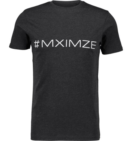 Image of #mximze So Classic Tee M Treeni BLACK MELANGE  - BLACK MELANGE - Size: 2X-Large