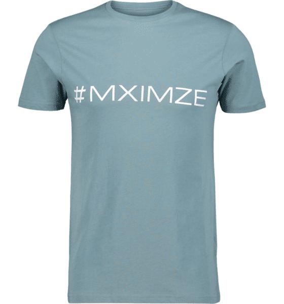 Image of #mximze So Classic Tee M Treeni PETROL MELANGE  - PETROL MELANGE - Size: Small