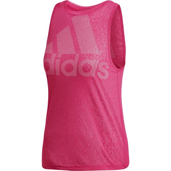 Image of Adidas So Magic Log Tnk W Treeni PINK  - PINK - Size: Small