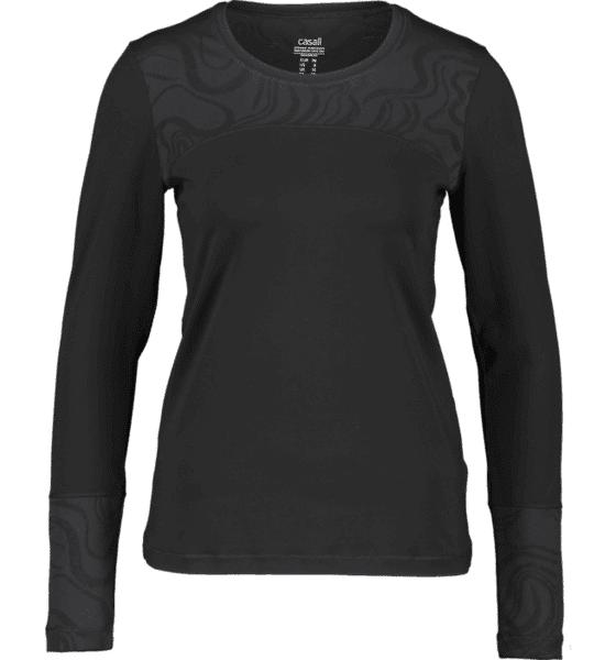 Image of Casall So Swirl Ls W Treeni BLACK  - BLACK - Size: 36