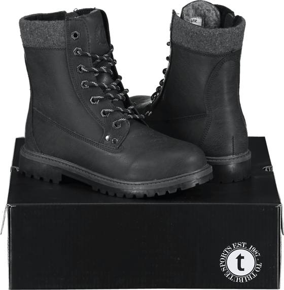 Image of Tribute So Cl High Boot W Varsikengät & saappaat BLACK (Sizes: 36)