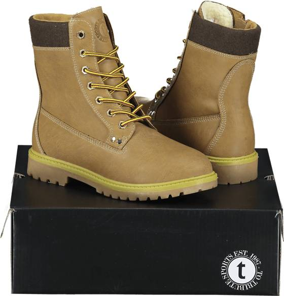 Image of Tribute So Cl High Boot W Varsikengät & saappaat YELLOW (Sizes: 40)