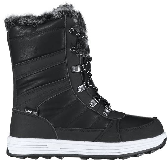 Image of Cross Sportswear So Bergen High Jr Varsikengät & saappaat BLACK/WHITE (Sizes: 38)