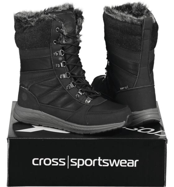 Image of Cross Sportswear So Bergen Hi W Varsikengät & saappaat BLACK/GREY (Sizes: 40)