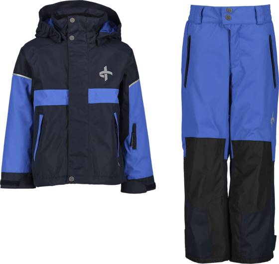 Cross Sportswear So Track Ski Set Takit NAVY (Sizes: 134-140)