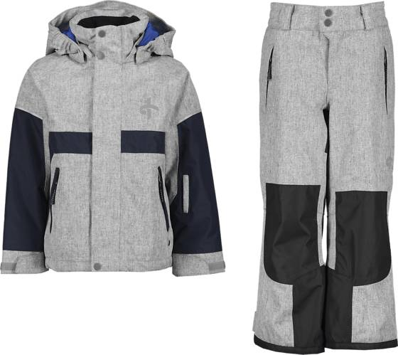 Cross Sportswear So Track Ski Set Takit GREY MELANGE (Sizes: 110-116)