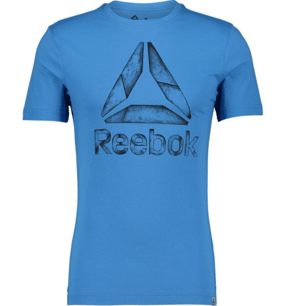 Image of Reebok So Gs Ost Tee M T-paidat CYAN BLUE  - CYAN BLUE - Size: 2X-Large
